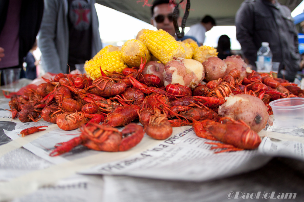 photoblog image 50lbs of fresh Crawfish!